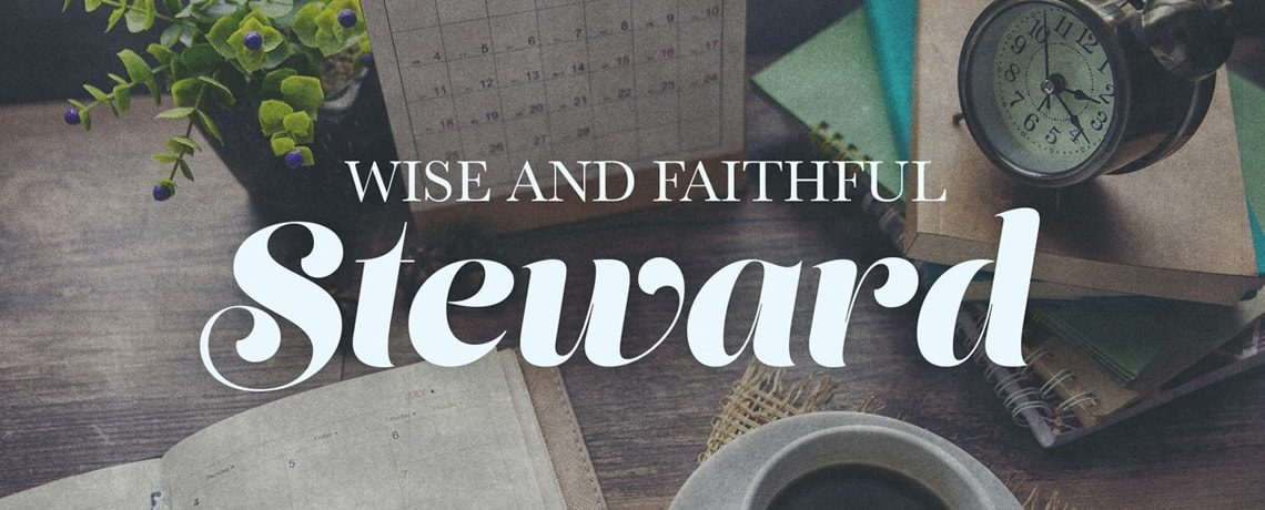 Wise And Faithful Steward – Pastor Kris Palmer