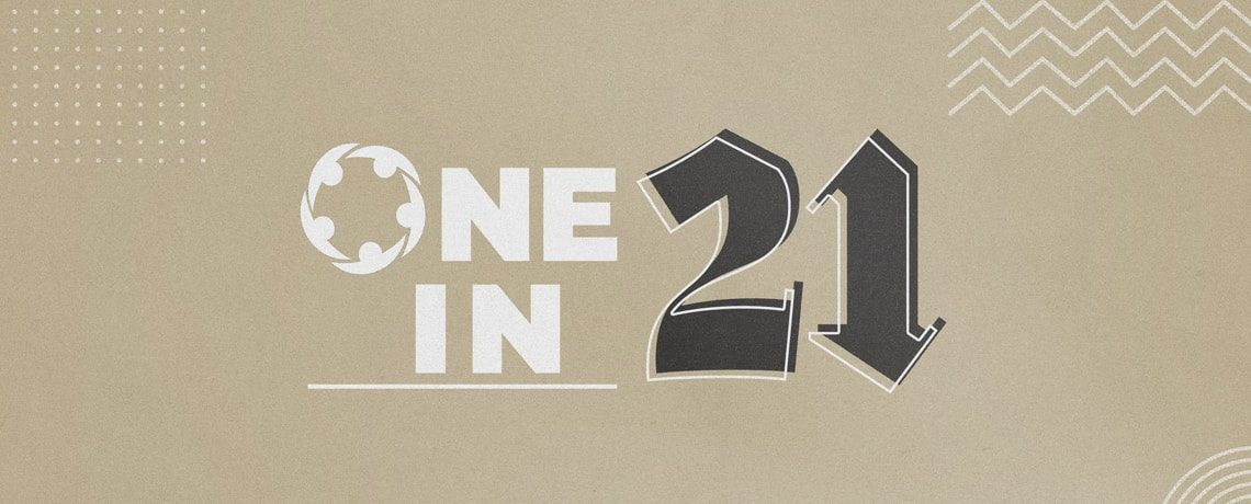 One In 21 – Dave Barton